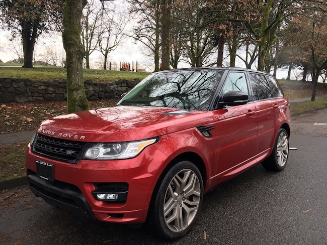 2015 Land Rover Range Rover Sport V8 Supercharged, LOCAL, LOW KM, CLEAN TITLE SUV