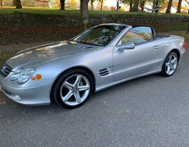 2003 Mercedes-Benz SL-Class Sl500, NO ACCIDENT, SUPER LOW KM Convertible