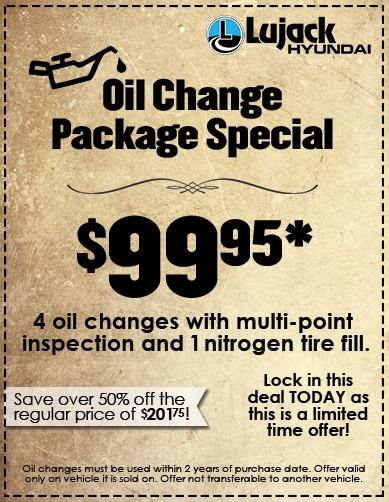 Oil Change Special - 99.95