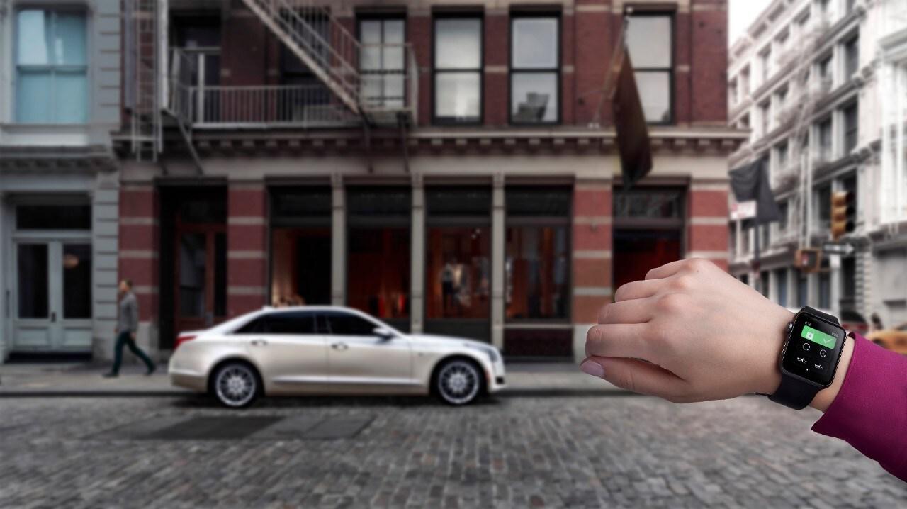 Cadillac Apple Watch