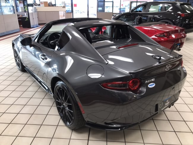 new 2019 mazda mx 5 miata rf for sale at lunde auto center. Black Bedroom Furniture Sets. Home Design Ideas