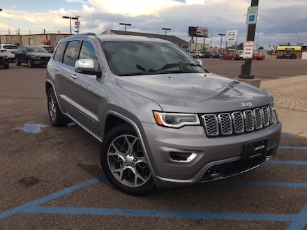 Featured Used 2020 Jeep Grand Cherokee Overland SUV for Sale in Fargo