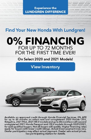 January | 0% Financing