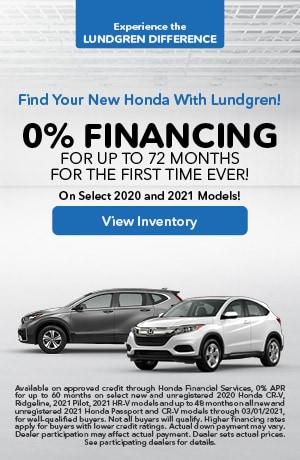 January | O% Financing