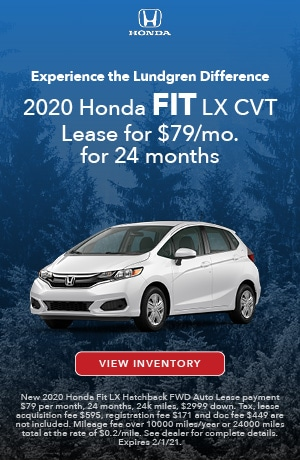 January | 2020 Fit LX | Lease