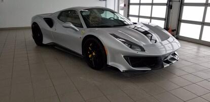Used 2020 Ferrari 488 Pista Spider For Sale Auburn Ma Boston Hoc134