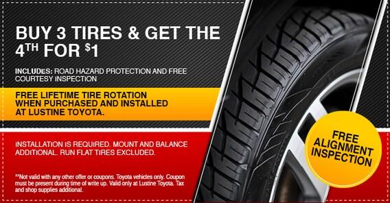 Online Tire Store >> Online Tire Store Lustine Toyota