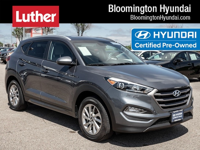Certified  2016 Hyundai Tucson SE SUV Bloomington