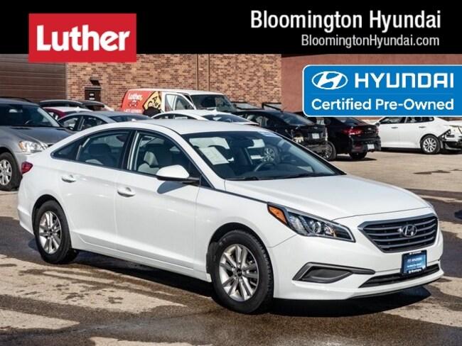 Certified  2016 Hyundai Sonata 2.4L SE Sedan Bloomington