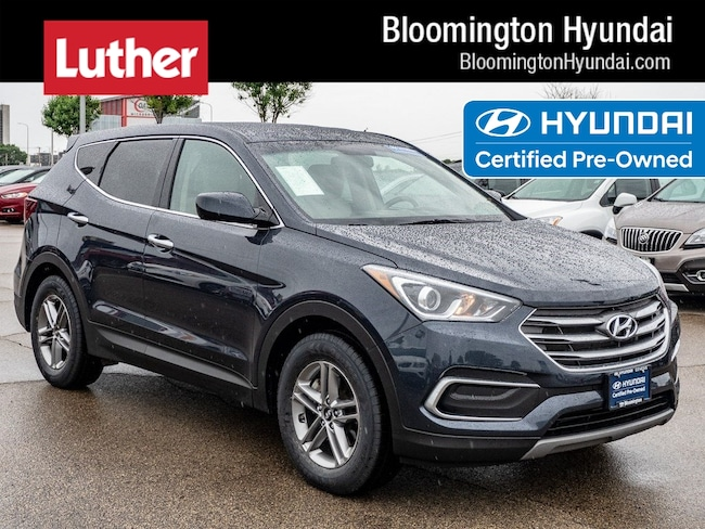 Certified  2018 Hyundai Santa Fe Sport 2.4L SUV Bloomington