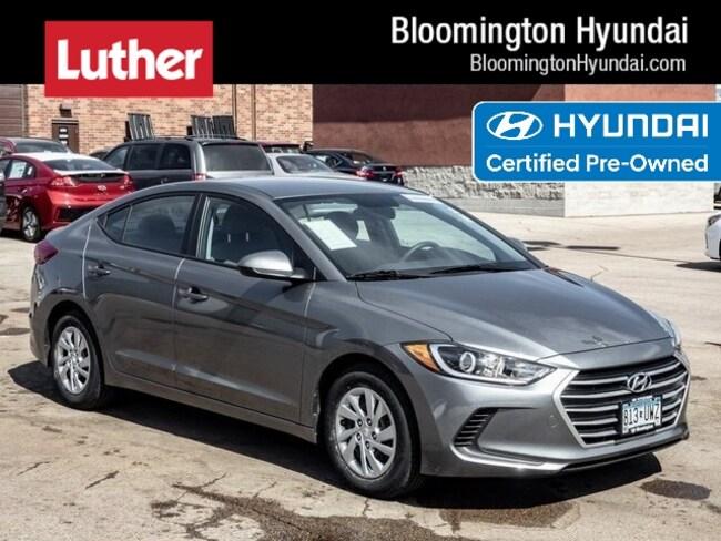 Certified  2017 Hyundai Elantra SE Sedan Bloomington
