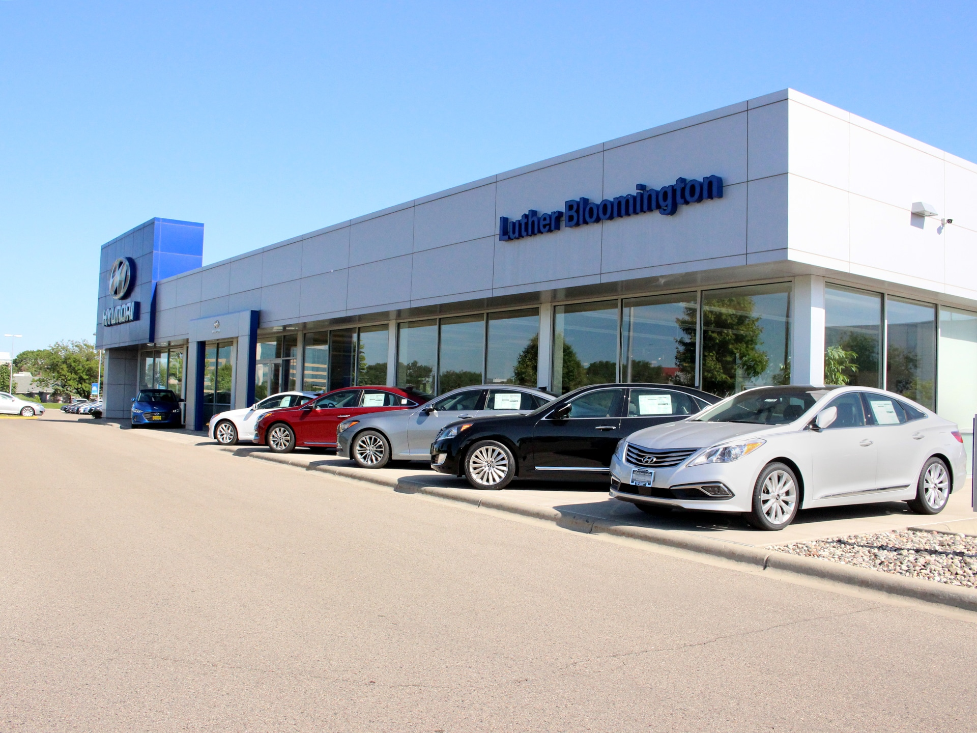 Hyundai Dealers Mn >> New Hyundai Dealer Bloomington | Luther Bloomington ...
