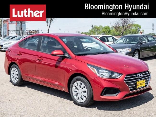 New 2019 Hyundai Accent SE Sedan Bloomington