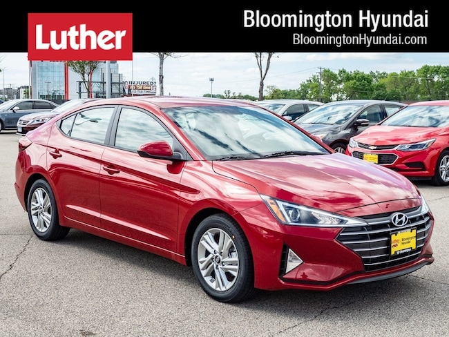 New 2019 Hyundai Elantra SEL Sedan Bloomington