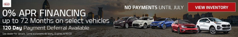 0% APR Financing up to 72 Months on select vehicles