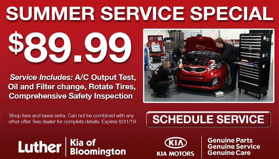 $89.99 Summer Service Special