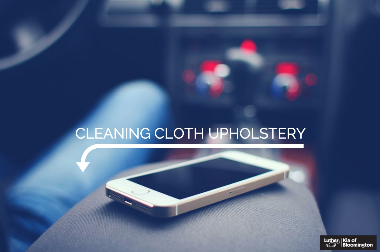 how to clean cloth upholstery
