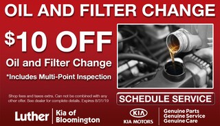 $10 Off Oil and Filter Change