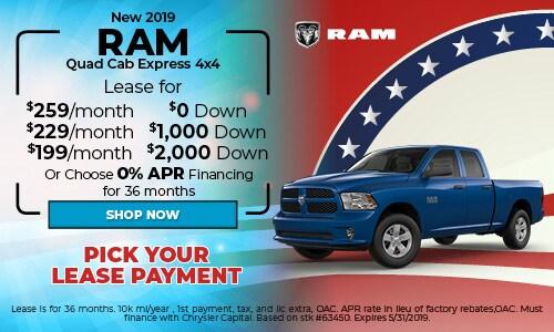 2019 RAM Quad Cab Express 4X4