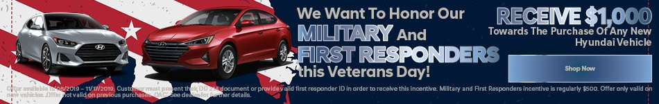 Veterans Day Military And First Responder Offer