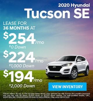 May- 2020 Hyundai Tucson SE