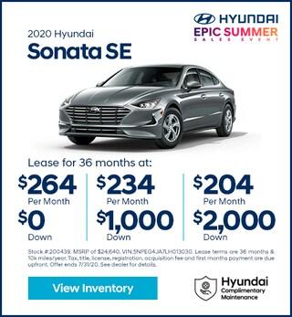 2020 Hyundai Sonata July
