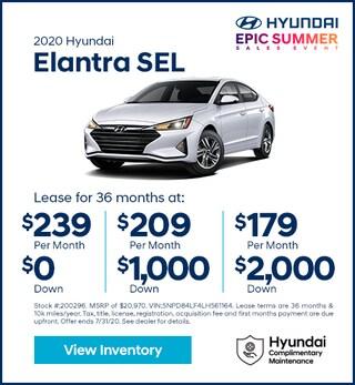2020 Hyundai Elantra July