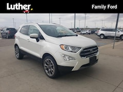 Used 2018 Ford EcoSport Titanium SUV For Sale in Fargo, ND