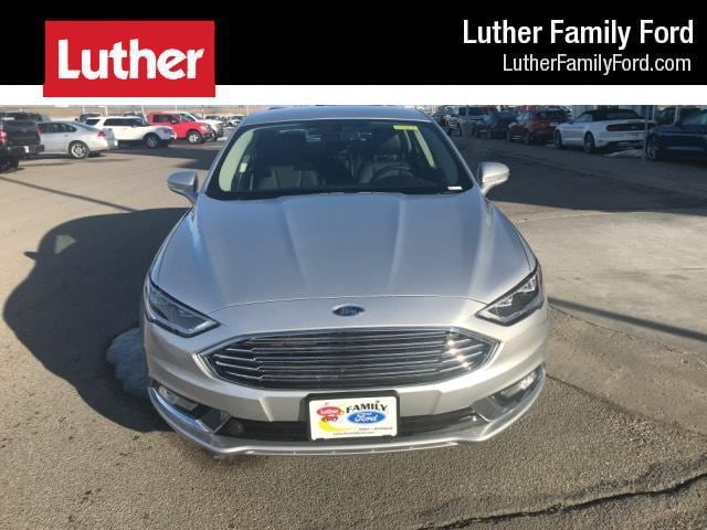 2018 Ford Fusion Titanium Car