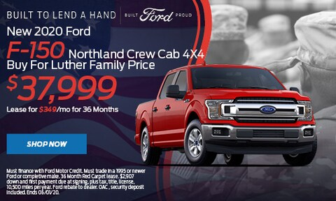 New 2020 Ford F-150 Northland Crew Cab 4X4
