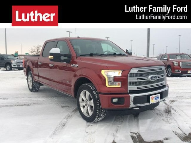 2016 Ford F-150 Platinum 6.5 box Truck SuperCrew Cab