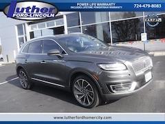 Used 2019 Lincoln Nautilus Reserve SUV