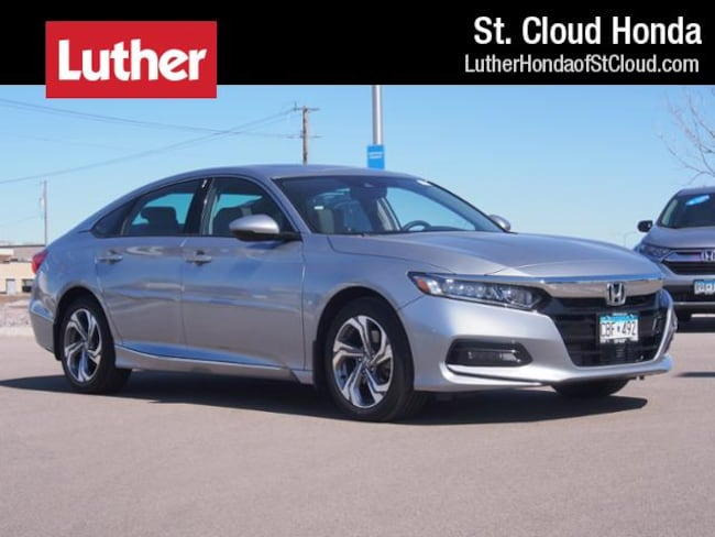 2018 Honda Accord Sedan EX-L 2.0T Auto Certified