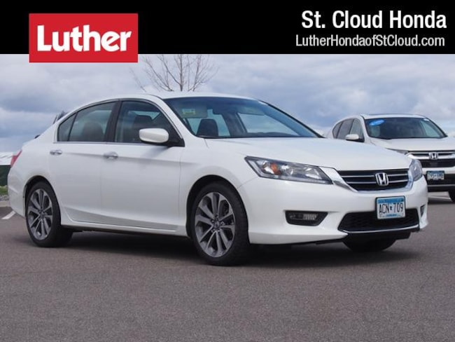 2015 Honda Accord Sedan I4 CVT Sport Certified