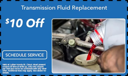$10.00 Off Transmission Oil Replacement