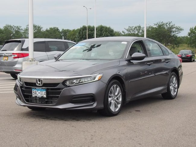used 2018 honda accord sedan for sale at luther st cloud honda vin 1hgcv1f18ja008770. Black Bedroom Furniture Sets. Home Design Ideas