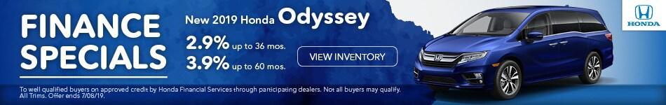 2019 Odyssey Special APR