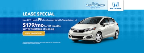 New 2019 Honda Fit Continuously Variable Transmission   LX
