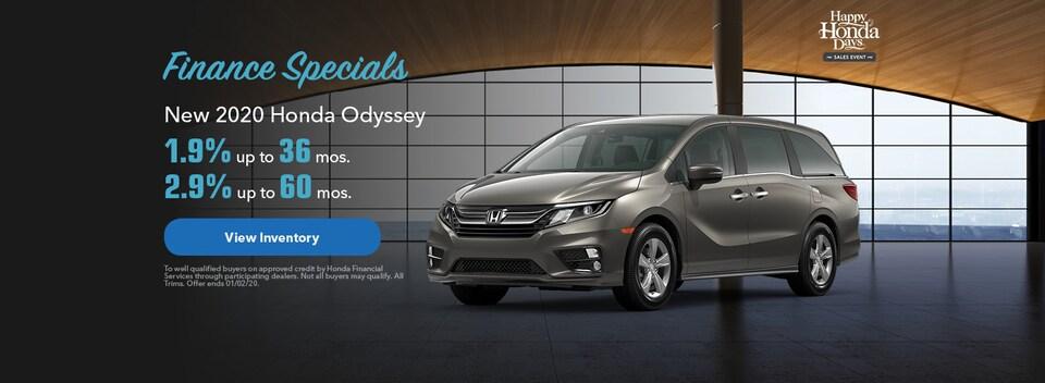2020 Odyssey Special APR