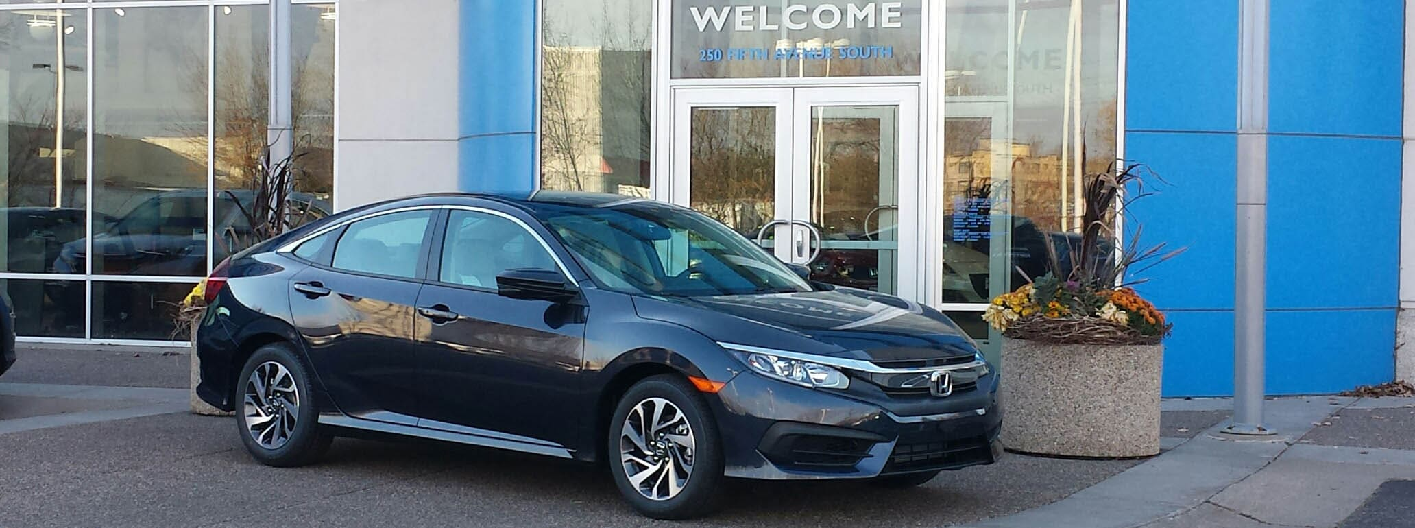 Available Now at Luther Hopkins Honda: The 2016 Honda Civic