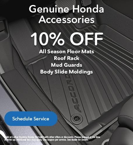 Genuine Honda Accessories