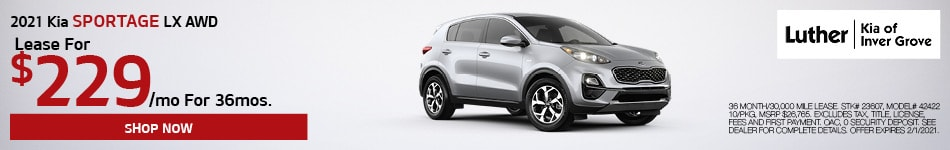 2021 Kia Sportage LX AWD