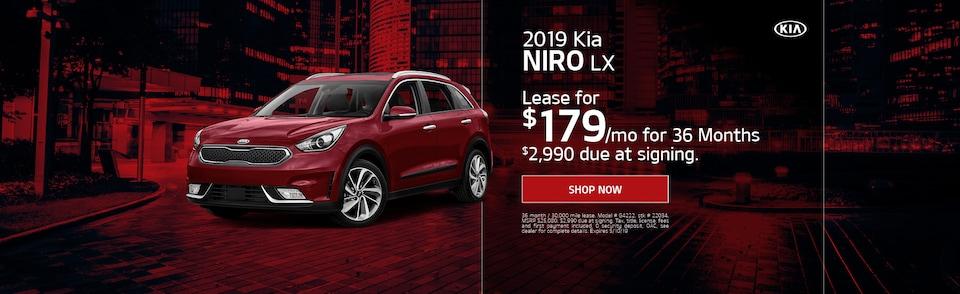 2019 Kia Niro - April