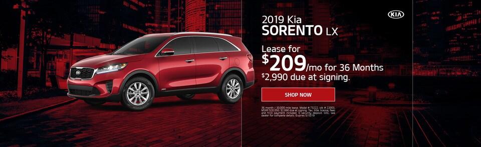 2019 Kia Sorento - April