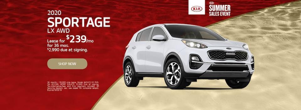 2020 Kia Sportage Special