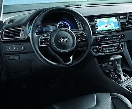 Dashboard of Kia Niro
