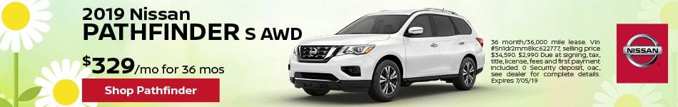 2019 Nissan Pathfinder S AWD