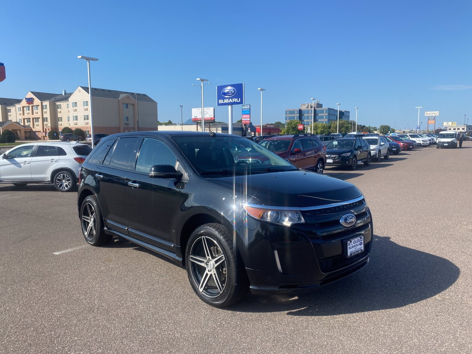 Used 2014 Ford Edge Sport with VIN 2FMDK4AK9EBA72898 for sale in Saint Cloud, Minnesota