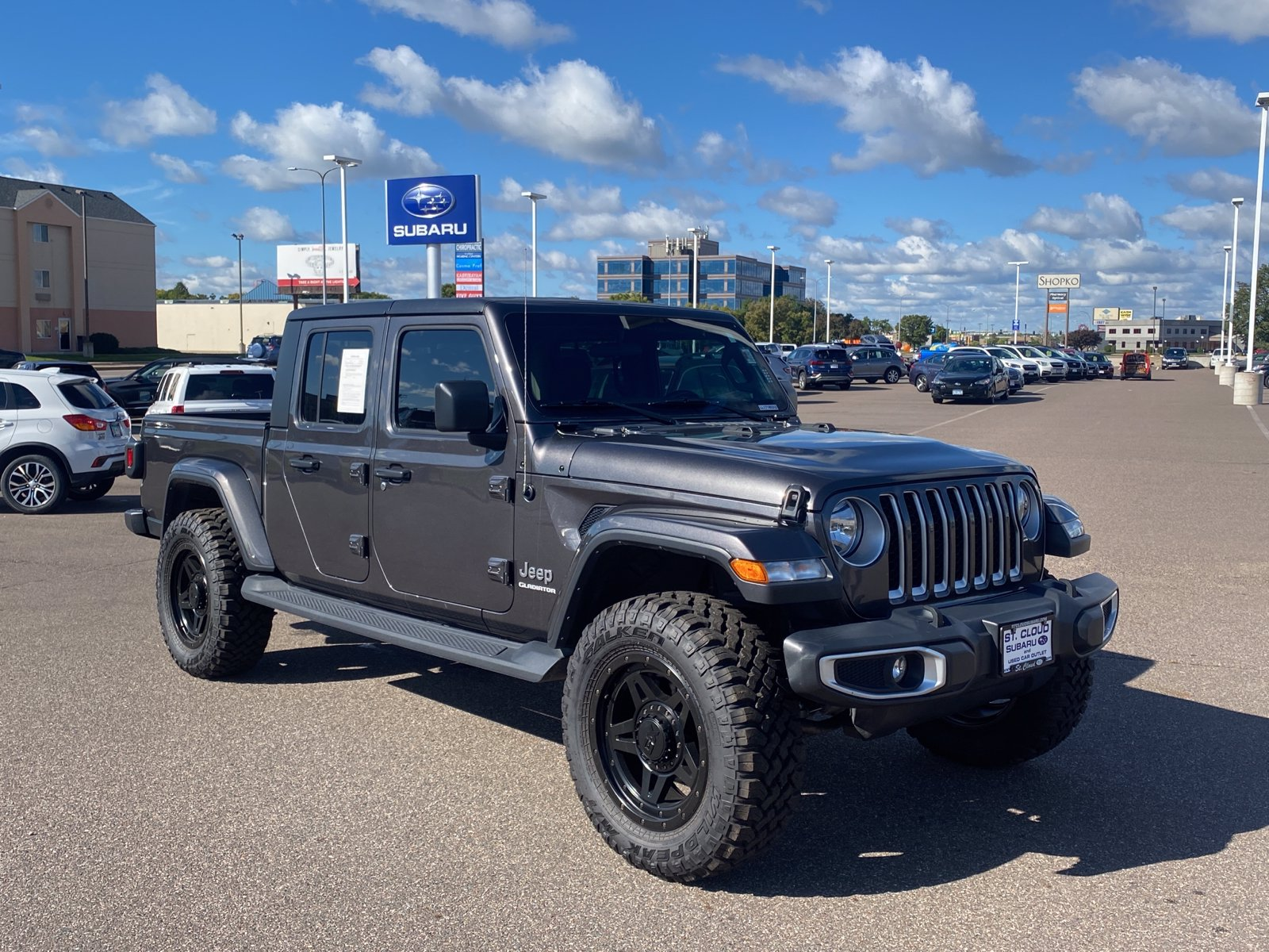 Used 2020 Jeep Gladiator Overland with VIN 1C6HJTFG6LL171853 for sale in Saint Cloud, Minnesota