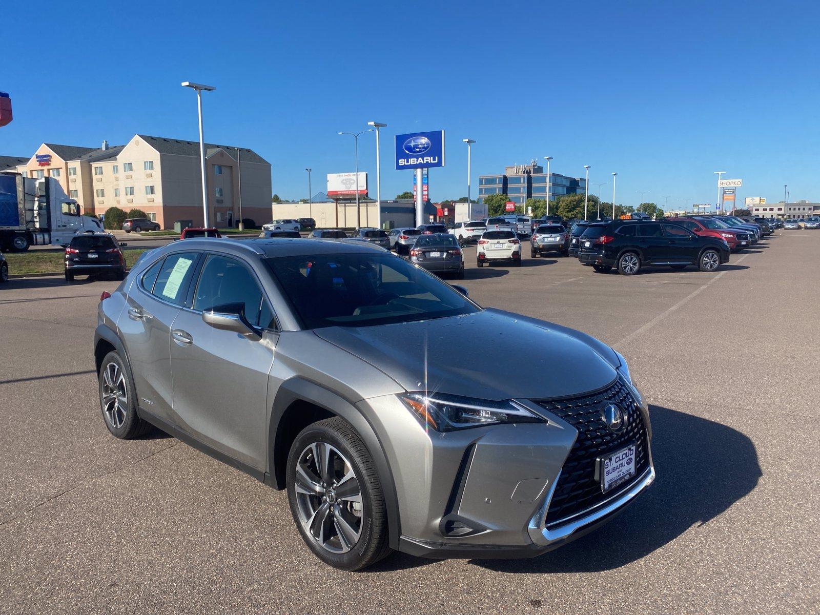 Used 2019 Lexus UX Hybrid 250h LUXURY with VIN JTHU9JBH6K2017679 for sale in Saint Cloud, Minnesota